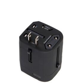 Herschel Travel Adapter Black